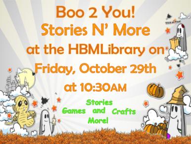Boo 2 You! Stories N' More